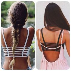 Women Sexy Padded Bra Top Bralette Bralet Caged by VanillaCloset Find these on Etsy <3 Worldwide shipping <3