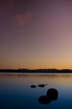 ✮ Lake of Menteith by Sunset - Scotland