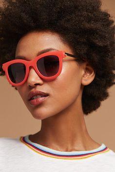 Slide View: 1: Poppy Matte Sunglasses