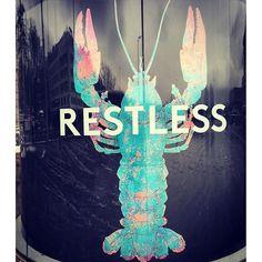 We gotta be #restless - #lobster in #zurich #dasischzüri #travel #wanderlust #wandering #pocoftheday #motivation #motto #inspo #positive #energy #switzerland