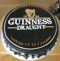 Pin Guinness Beer Poster Cake on Pinterest