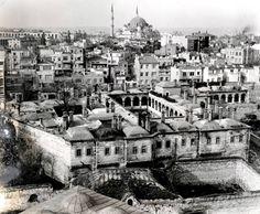 Laleli Camii'nden Taş Han ve Şehzadebaşı Yönü