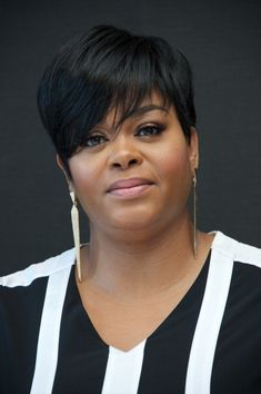 """ Jill Scott at the 'Get On Up' Press Conference at the Mandarin Oriental Hotel on July 2014 "" Short Weave Hairstyles, Short Hairstyles For Women, Short Hair Cuts, Short Hair Styles, Cute Bob Haircuts, Jill Scott, Pelo Natural, Hair Today, Hair Trends"