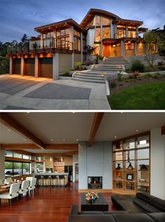 The Armada House, located in Victoria, British Columbia, designed by KB Design.