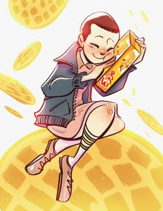 Eleven Loves Eggos