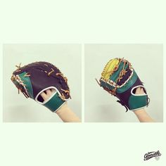 First Base Mitt with Gloveworks. Build your custom glove at gloveworks.net #Baseball #CustomGlove #BaseballGlove