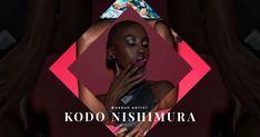 Portfolio website of Kodo Nishimura the Japanese Makeup Artist. lives and working in New York City.