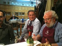 "President & Chef of the ""Txoko"", Traditional gastronomy at the oldest gastronomy society in Bilbao, Bilbao Region, Basque Country."