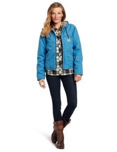Carhartt Women`s Sandstone Sierra Jacket/Sherpa-Lined $79.99