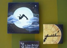 Peter Pan series acrylic canvas