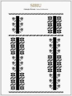 Semnele cusute - Un alfabet care vorbeste despre noi Folk Embroidery, Learn Embroidery, Hand Embroidery Designs, Embroidery Patterns, Cross Stitch Patterns, Beading Patterns, Romania, Palestinian Embroidery, Moldova