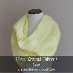 Cream Of The Crop Crochet ~ Cowl {Free Crochet Pattern}