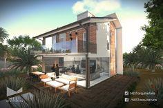 3|3 CASA IS - Projeto arquitetônico residencial na Lagoa Garopaba do Sul, em Jaguaruna - SC