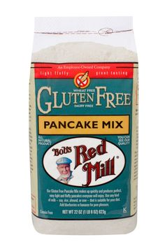 New! Our Gluten Free Pancake Mix makes up quickly and produces perfect, very light and fluffy pancakes everyone will enjoy. Use any kind of milk-soy, rice, almond, or cow-that is suitable for your diet. Add blueberries or bananas for pure pleasure. Ingredients: potato starch, sorghum flour, tapioca flour, corn flour, evaporated cane juice, baking powder (sodium acid pyrophosphate, sodium bicarbonate, corn starch, monocalcium phosphate), baking soda, sea salt, xanthan gum.