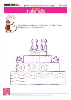 Graphisme - Petite Section - Tracer des traits, des ronds et des vagues