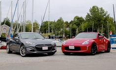 The 2016 Hyundai Genesis Coupe 3.8 or the Nissan 370Z. What is your pick for a V6 sports coupe?