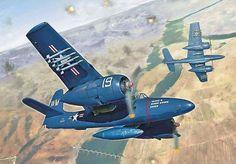 Grumman F7F-3 Tigercat (Italeri box art)