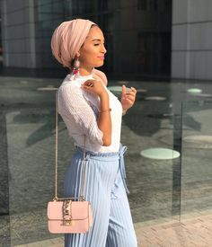 Discover recipes, home ideas, style inspiration and other ideas to try. Hijab Turban Style, Turban Outfit, Mode Turban, Hijab Chic, Hijab Outfit, Muslim Fashion, Modest Fashion, Fashion Outfits, Modest Dresses