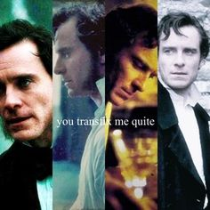Michael Fassbender as Rochester in Jane Eyre . I can't get over the quote, just beautiful Jane Eyer, Great New Movies, Jane Eyre 2011, Bronte Sisters, Charlotte Bronte, Fanart, Michael Fassbender, Pride And Prejudice, Period Dramas