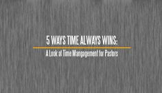 Time always wins. It is a simple truth. But it does. In our hectic world, time management for pastors matters, because you can't do it all. Do what matters.