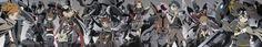 "Artist: Hajime (Hajime-ill-1st)   Digimon Adventure   Angewomon   BlackWarGreymon   Garudamon   Ishida Yamato ""Matt""   Izumi Koushirou ""Izzy""   Kido Jyou ""Joe""   Lillymon   MagnaAngemon   MegaKabuterimon  MetalGarurumon   Tachikawa Mimi   Takaishi Takeru ""TK""   Takenouchi Sora   WarGreymon   Yagami Hikari ""Kari""   Yagami Taichi ""Tai""   Zudomon"
