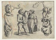 Arent van Bolten's Grotesques | The Public Domain Review