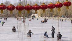 Honderden miljoenen mensen in China vieren Nieuwjaar, ook wel Lentefeest genoemd. Foto EPA