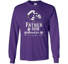 Men's Father Son Friends Fist Bump TShirt Dad Father's Day Family