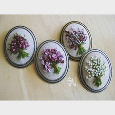 479 likes, 9 Feedback-saltlight embroidery ( on I . Silk Ribbon Embroidery, Embroidery Jewelry, Embroidery Hoop Art, Hand Embroidery Designs, Cross Stitch Embroidery, Embroidery Ideas, Floral Embroidery, Brazilian Embroidery, Embroidered Flowers