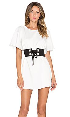 Shop for NBD Lock 'n' Load Dress in White at REVOLVE. Free day shipping and returns, 30 day price match guarantee. Off The Shoulder, Cold Shoulder Dress, Lace Dress, White Dress, Revolve Clothing, Ladies Dress Design, Designer Dresses, Style Inspiration, Mini