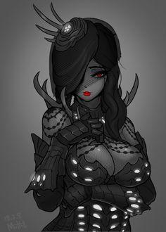 Vaal Hazak Armor B by MuHut