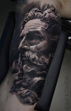 Tatouage réalisé par Eliot Kohek