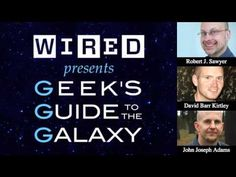 Robert J. Sawyer Interview - Geek's Guide to the Galaxy Podcast #82