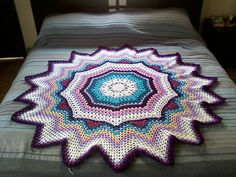 Ravelry: Project Gallery for SmoothFox's Stir Up A Smile Round Ripple 18 Points pattern by Donna Mason-Svara