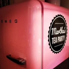 Branded Fridge | Martha's Tea Party