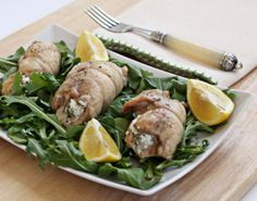 Chicken Roll Ups Stuffed with Goat Cheese and Herbs | An easy main ...