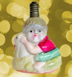 The Golden Glow of Christmas Past - collecting Antique Christmas with The Glow - WEb Site