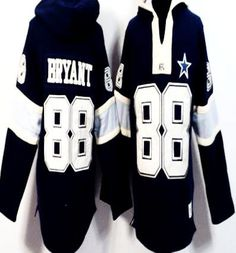 a96e59b8d Dez Bryant Navy Blue Player Winning Method Pullover Men s NFL Hoodie