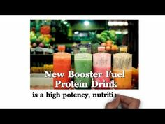 Tasty 'Booster Fuel' Protein Smoothies Made From New Energy Drink