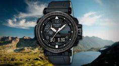 Casio объявила о начале продаж серии многофункциональных часов ProTrek PRG-650