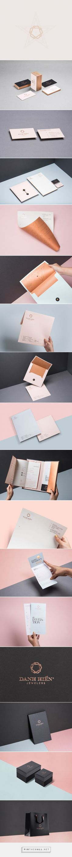 Elegant Branding Design for Danh Hien Jewelers http://inspirationhut.net/inspiration/elegant-branding-design-danh-hien-jewelers/ - created via https://pinthemall.net