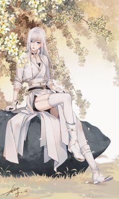 Pretty Anime Girl, Cool Anime Girl, Beautiful Anime Girl, Kawaii Anime Girl, Anime Art Girl, Blonde Anime Girl, Manga Girl, Chica Anime Manga, Anime Angel