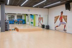 Sala de actividades colectivas #fitness - Ifitness Ponferrada