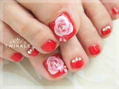Toenails design by TWINKLE