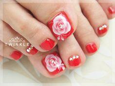 Toenails design by TWINKLE