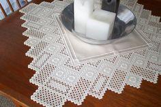 Hardanger table cloth