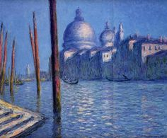 The Grand Canal - Claude Monet