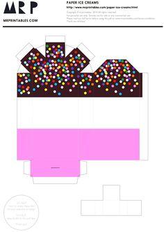 아이스크림 종이접기