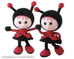 146 Crochet Pattern Girl doll in a Ladybug outfit #littleowlshut #crochetpattern #amigurumi #amigurumidolls #doll #stelmakhova_galina #crochetpattern #crochetlove #amigurumi #littleowlshut #Patterns #Crochet #etsy #handmade #crochettoys #crocheting #handcrafted #handcraft #knittersofinstagram #crochetaddict #crochetdoll #Stelmakhova #crochetingisfun #craftastherapy #crocheteveryday #crochetlover #amigurumilove #ladybird #ilovecrochet #ladybug #insect