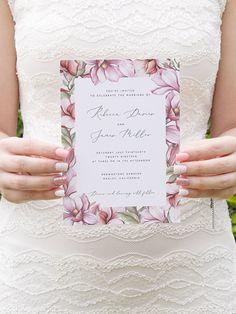 This item is unavailable - Floral Wedding Invitation Template Printable Wedding Invite - Purple Wedding Invitations, Wedding Invitation Card Template, Watercolor Wedding Invitations, Floral Wedding Invitations, Wedding Stationery, Debut Invitation, Glitter Invitations, Wedding Cards, Wedding Boxes